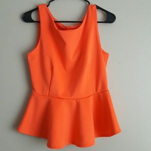 Salmon/orange top